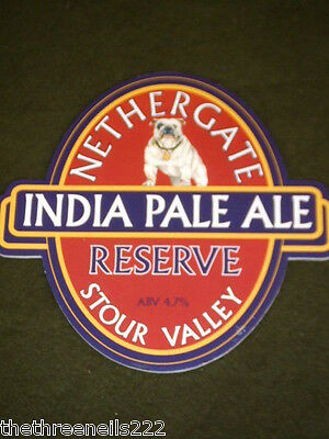 Beer Pump Clip - Nethergate India Pale Ale Reserve