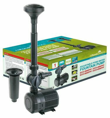 Submersible Water Garden Fountain Pond Pumps All Pond Solutions ECO Pump Range