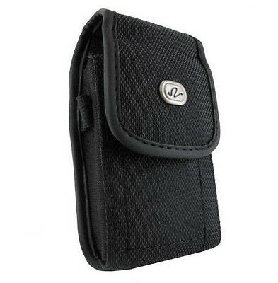 Vertical Heavy Duty Rugged Canvas Case Side Belt Clip - See the List inside!