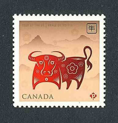 CANADA    2009   YEAR of the OX   54c SINGLE  MNH