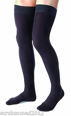Jobst For Men Thigh High Compression Stockings 15-20 mmHg - Moderate Compression