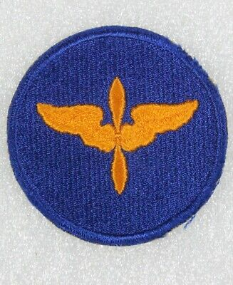 Army Air Corps Patch: Aviation Cadet - embroidered, blue