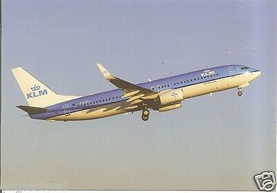 Airline Postcard - KLM - B737 800 - PH-BXV (P2942)