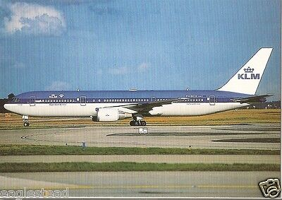 Airline Postcard - KLM - B767 306ER  - PH-BZB (P2944)
