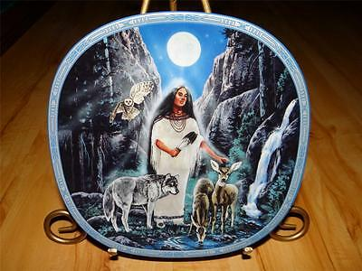 """""""The Medicine Woman"""" VISIONS OF THE SACRED Indian by Diana Stanley Plate"""