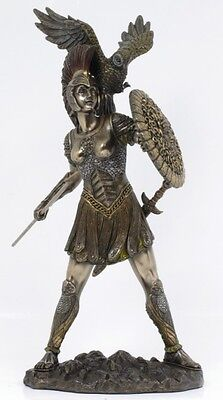Greek Roman Athena Statue.goddess Of Wisdom Figurine.european Home Decor.new