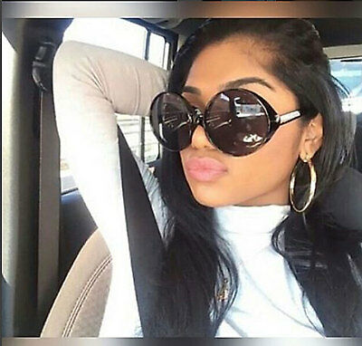 Huge Oversized Sunglasses Retro Women Round Designer Fashion