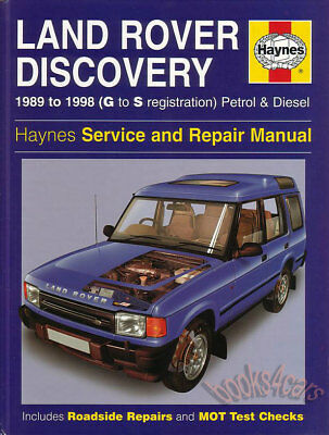 LAND ROVER DISCOVERY SHOP MANUAL SERVICE REPAIR BOOK HAYNES 1994 1998 CHILTON 96