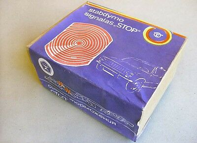 "RUSSIA LADA Additional BRAKE LIGHT ""STOP"" for SOVIET CARS in Original Box 1980s"