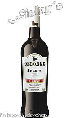Osborne Medium Sherry 0,75 Ltr.