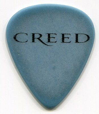 CREED  Concert Tour Guitar Pick!!! MARK TREMONTI custom stage Pick #2