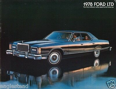 Auto Brochure - Ford - LTD - Car - 1978 - For the millions (AB172)