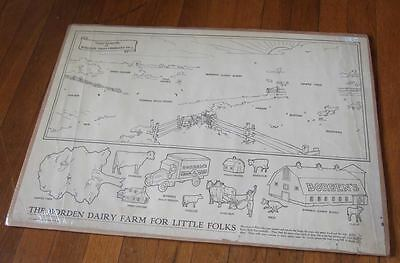 1930 Borden Dairy Farm for Little Folks~promo give away~unused