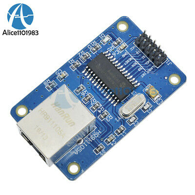 New ENC28J60 Ethernet LAN Network Module For Arduino SPI AVR PIC LPC STM32