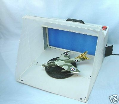 New Improved Version Expo Ab500 Portable Airbrush Spray Booth & Extractor Fan