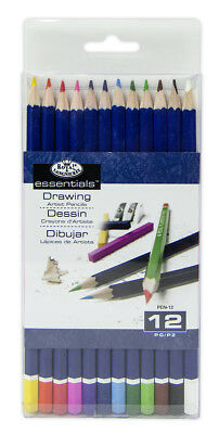 12 Royal Langnickel Colouring Pencils Artist Colour Drawing Sketching Art Pen12