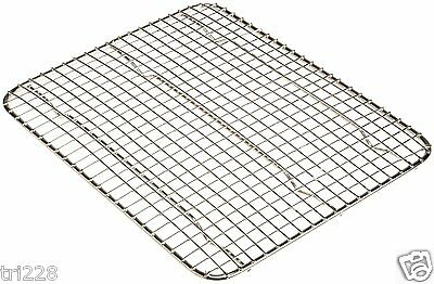"Update Half Size Insert Wire Pan Grate Cake Cooling Rack 8"" x 10"""