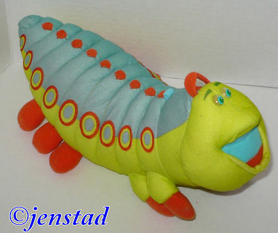 """Disney Heimlich From A Bugs Life Christmas 11"""" Toy Plush Figure Mattel 1998 Used"""