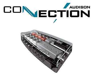 Audison Connection Fuse & Distribution Block 4-WAY Car Subwoofer Amp SFD41C