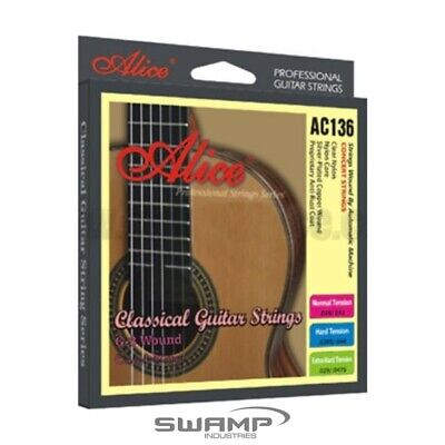 Alice Classical Guitar Nylon Strings - Normal Tension