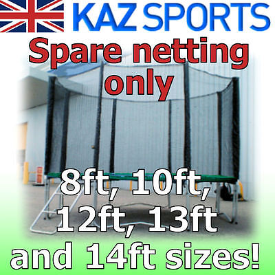 Spare Trampoline Netting For Round Trampoline 5 Sizes!