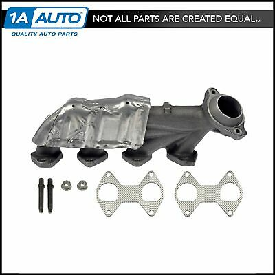 Left Exhaust Manifold Kit w// Hardware /& Gaskets Dorman 674-460 USA Made