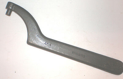 """Williams 464 Pin Spanner Wrench Usa Made 3/8"""" Pin"""