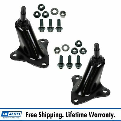 Rear Upper Shock Mount Bracket Pair Set for 80-97 Ford Pickup Truck F250 F350