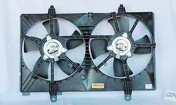 Fits 03-07 Nissan Murano Radiator & Condenser Cooling Fan Assy