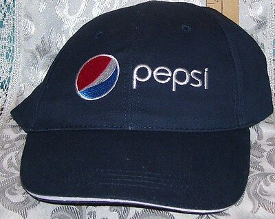 New Advertising Pepsi Logo Baseball Hat 100% Cotton