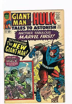 Tales to Astonish # 65  Ant-Man Hulk grade 4.0 - movie super scarce hot book !!