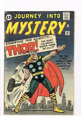 Journey into Mystery # 89 Kirby Thor grade 4.5 - movie super scarce hot book !!