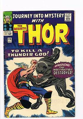 Journey into Mystery # 118 Kirby Thor grade 5.0 - movie super scarce hot book !!