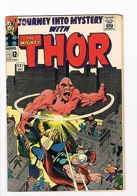 Journey into Mystery # 121 Kirby Thor grade 5.0 - movie super scarce hot book !!