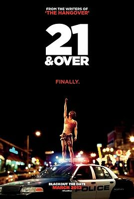 21 and Over - original DS movie poster - D/S 27x40