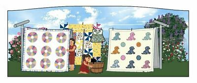 Cat's Meow Village Grandma's House Quilts of Joy MW006177 Exclusive *SHIP DISC*