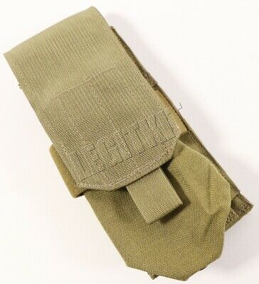 NEW Eagle Industries MLCS Single 1x2 Ammo Mag Pouch Tan Buckle Navy SEAL MOLLE