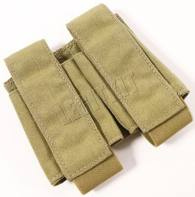 NEW Eagle Industries MLCS Double 40mm Grenade Pouch Tan Buckle Navy SEAL MOLLE