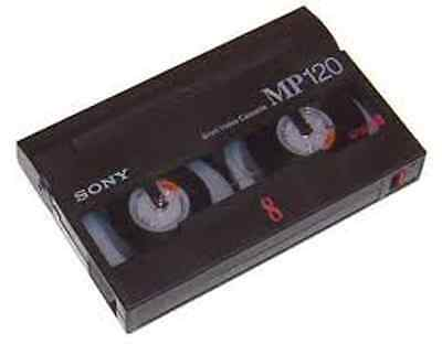 6 (Six)  8mm  8 mm Hi-8 Hi8 Hi 8 VIDEO TAPES TRANSFER TO DVD ~ Copy Service