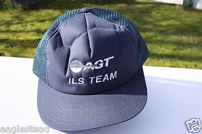 Ball Cap Hat - AGT - ILS Team - Alberta Government Telephone (H657)
