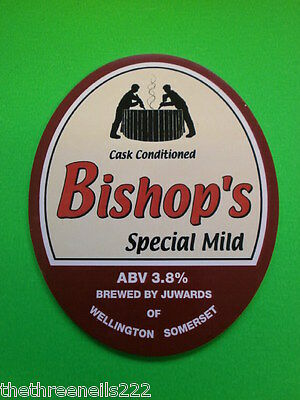 Beer Pump Clip - Bishop's Special Mild