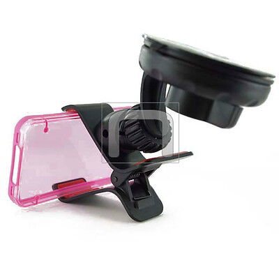 Vehicle Car Suction Holder Mount Windshield Cradle Clip for ATT Smart Cell Phone