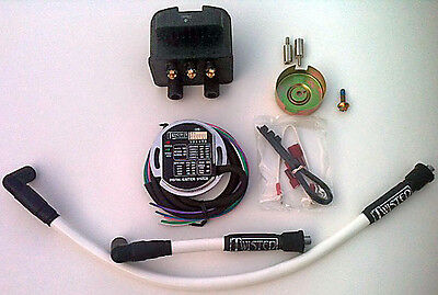 Twisted Digital Ignition Kit Harley Sportster Xl Xlh Ironhead 900 1000 1971-Up