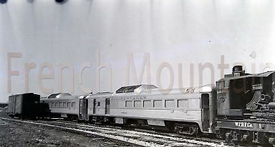 Original Negative Photo Occidentales Passenger Cars Railroad 1 of 2 142