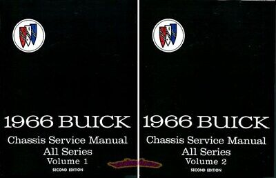 Shop Manual Buick Service Repair 1966 Book Workshop Guide