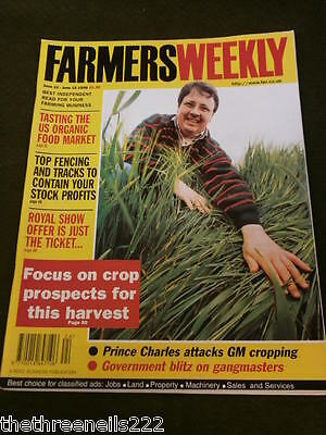 Farmers Weekly - Prince Charles Attacks Gm Cropping - June 12 1998