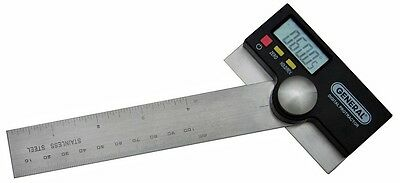 """Precision Protractor Digital 6"""" Stainless General Tool #1702"""