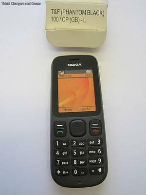 Black Nokia 100 Pretend Mobile Phone Kids Toy/Practical Joke/Shop Display Dummy