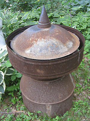 Antique Country Architectural Flower Plant Garden Yard Art Cupola Vent Fineal Us