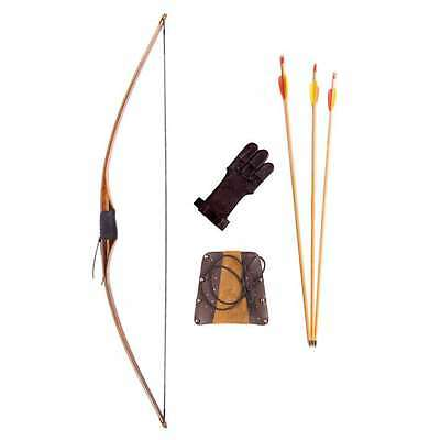 Petron Mens Indian Flatbow Archery Kit - Left Hand